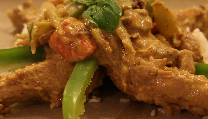 pretty doll rock blog, culinay cutie, chicken curry