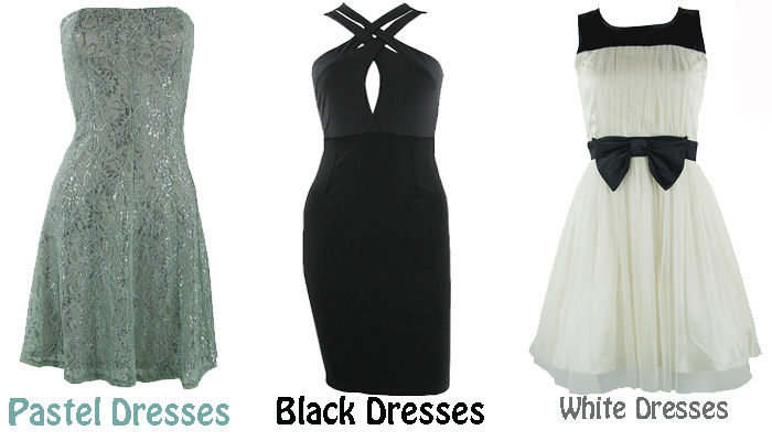 pretty doll rock blog, pastel dresses, black and white dresses