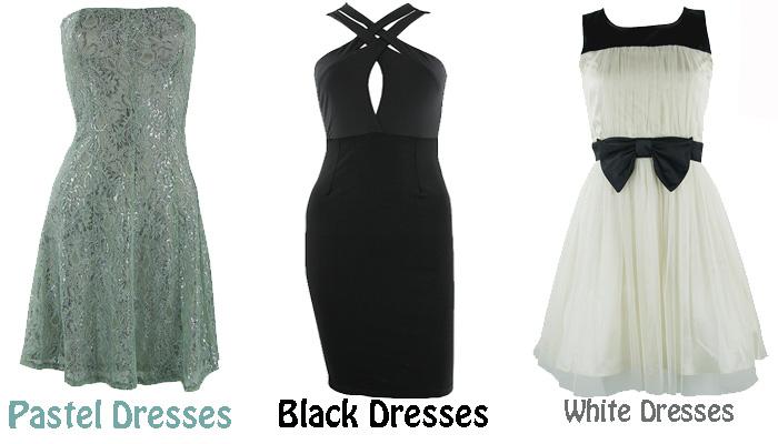 pretty doll rock blog, pastel dresses, black and white dresses